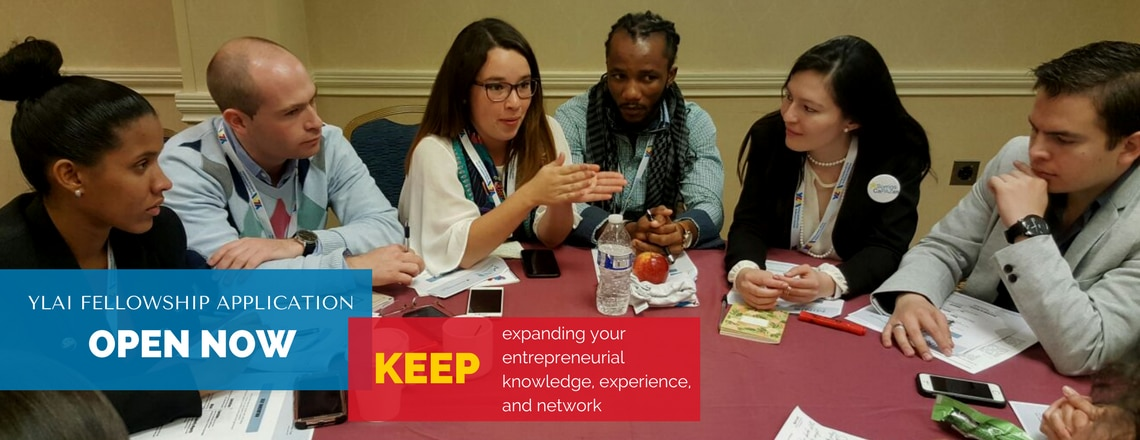 Young Leaders of the Americas Initiative Encourages Entrepreneurs to Apply