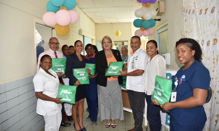 Mosquito Net Donation at Sehos Hospital